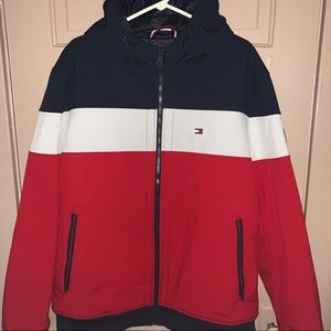 Tommy Hilfiger Double Zip Bomber Coat